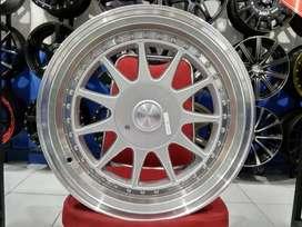Velg Mobil Avanza, Visto, Ignis Ring 17 HSR IKIMASU Silver