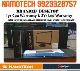 Superhit Dhamaka offers On Desktop i3 i5 i7 Branded hp dell lenovo
