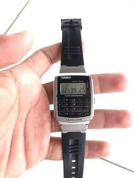 Jam tangan casio kalkulator CA-56 original