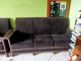 Sofa 3 in 1 kayu jati