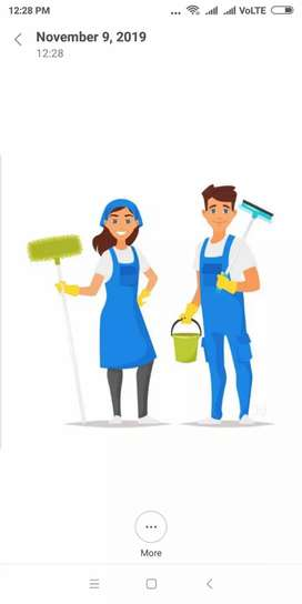 Home Maid for your house to make things easy for you.