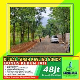 Dijual Tanah Bogor Timur Dekat Jalan Transyogi