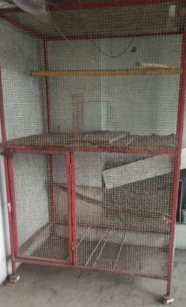 Cage for birds or dogs