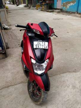 N toraq tvs company scouty brand new condition red black colour