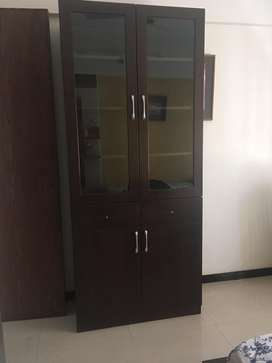 Immediate sale.4 door multipurpose wardrobe
