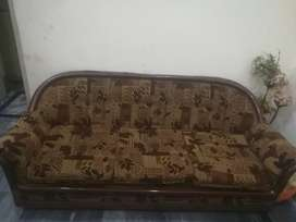 Sofa set 3+1+1  and table for sale