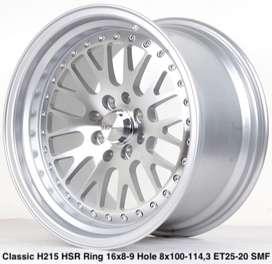 wheel CLASSIC L215 HSR R16X8/9 H8X100-114,3 ET25/20 SMF