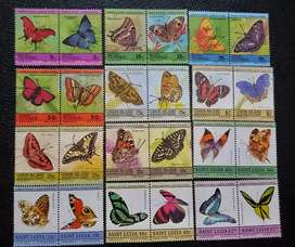 Stamps  butterfly theme .good quality