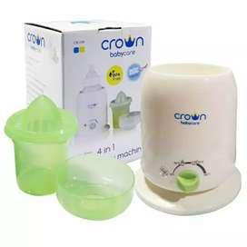 Baby Warmer Crown 4 in 1 Machine - Penghangat Botol