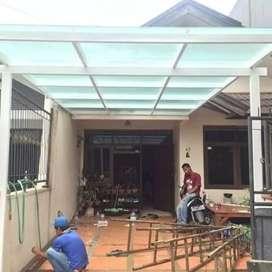 kanopi kaca untuk garasi