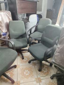 Low Back Used Cotton Office Chair | Shujat Chair House