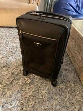 TUMI luxury luggage - 4 wheeled travel luggage