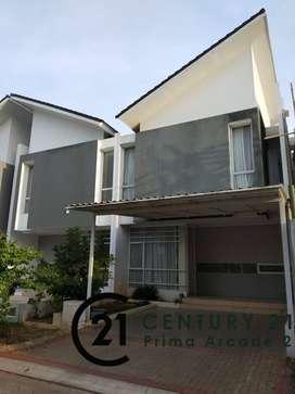 Rumah Minimalis 2 Lantai Siap Huni di Discovery Aluvia Bintaro -SC2179