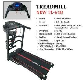 TREADMIL TL 618 - TOTAL FITNESS