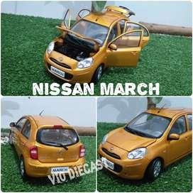 Diecast Miniatur Nissan March