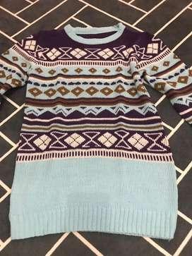 sweater rajut mix girl