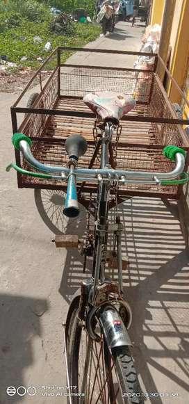 All new cycle van
