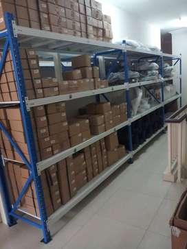 Rak Gudang Light Duty Kapasitas 250 Kg Perlevel
