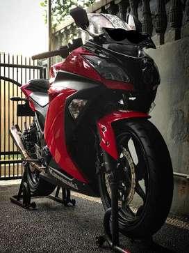 TAKE OVER / OVER KREDIT KAWASAKI NINJA 250Fi Like New