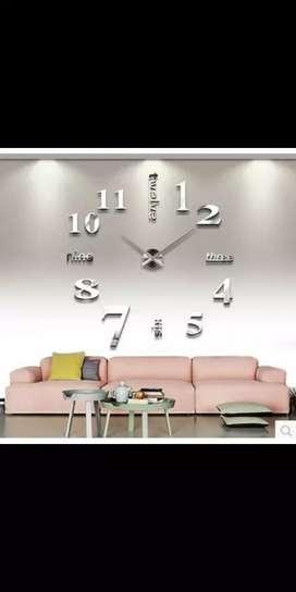 Jam Dinding Besar DIY 80 - 130cm
