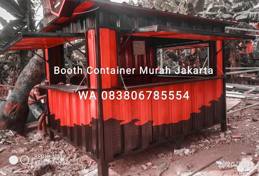 Booth Container Murah 0