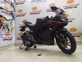 03, Yamaha R15 V3 155 2017! Motor Keren Km 6rb boskuh