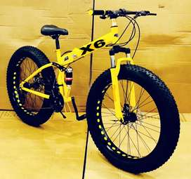 Foldable Fat Tyre Bm Series Stock Are available With 21 Gears