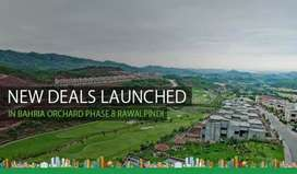 Bahria town phase 8 rawalpindi  orchard  plot for sale
