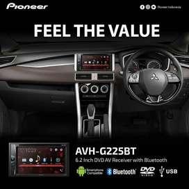 Pioneer G225BT Bluetooth Include Instalasi Garansi Resmi