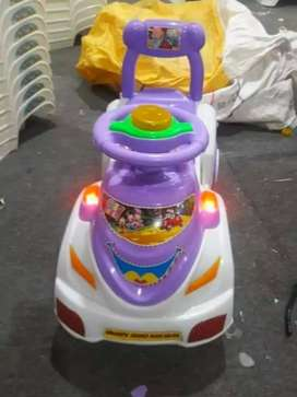 Mega car for baby with music and lights