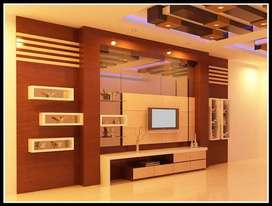 backdrop rak tv murah fullset kitchenset mini bar terujin siap pakai