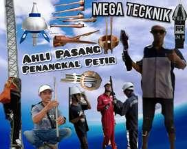 Teknisi ahli jasa pasang penangkal petir Bojongmangu / Bekasi