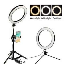 26CM led Ring Light for tiktokers with 5 feet Tripod Stand