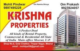 Flat available for sale at thapar Nagar Meerut