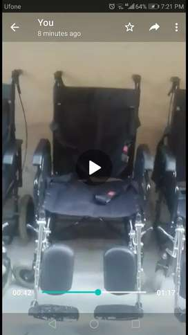 Wheel chairs waste range