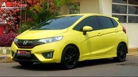 All New Jazz RS CVT 2016 GK5 Yellow On Black Mulus!!!