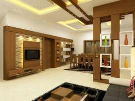 Rk Interior design &Interior , exterior works..