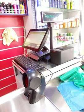 point of sale for bakery software , hardware with touch screen n Scale