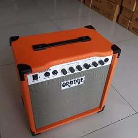Ampli gitar oranye clien dan overdrive