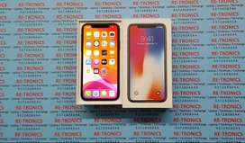 iPhone X 256GB Storage Color Space Grey Charger And Box