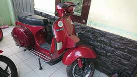 Di jual vespa exclusive 2