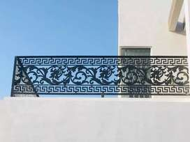 Gates, doors, Railings and decor in CNC metal and wood