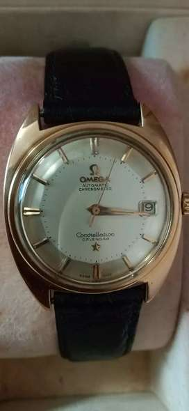 Omega Antique Wrist Watch Model (Constellation) Swiss Made.