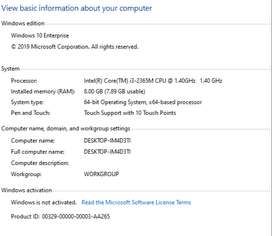 Asus 550 C i3 250 SSD and 1 TB HDD 8 GB Ram