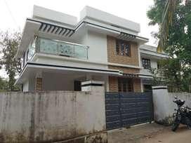 6.2 cent 1400 sqft 3 bhk house at paravur aluva road manakapady