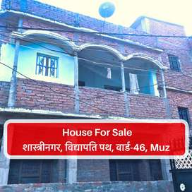 House For Sale I 2Floor HOUSE built in 1200 sqft Land I shastrinagar