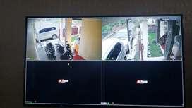 Paket Murah Cctv 4 Kamera Siap Pasang 2mp