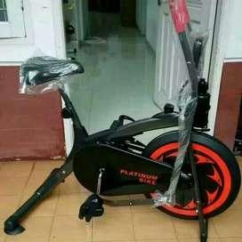 sepeda statis alat fitnes murah rumahan siap COD bayar ditempat