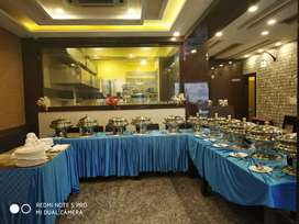 A well furnished fine dining restaurant