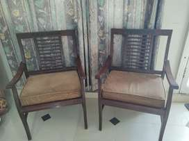 2 wooden chair in 7000/=